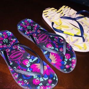 HAVAIANAS sandals (bundle,BOTH s6)